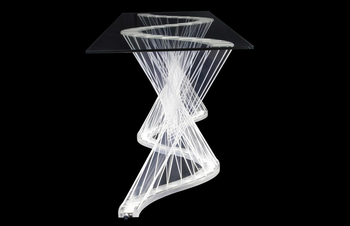 Liquid Light Design 187 Ripple Server Table