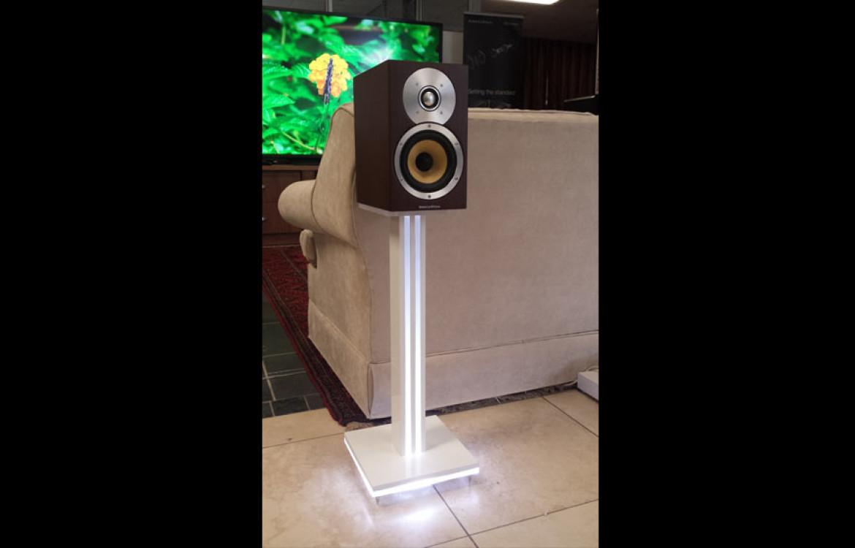 Liquid Light Design » Illuminated Speaker Stands